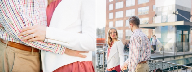 couple posing atlanta engagement session ponce city market georgia wedding photographer