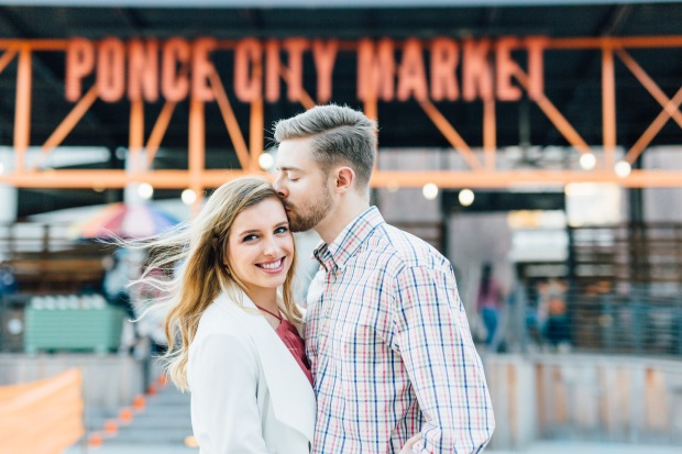 atlanta wedding photographers ponce city market engagement casey green photography