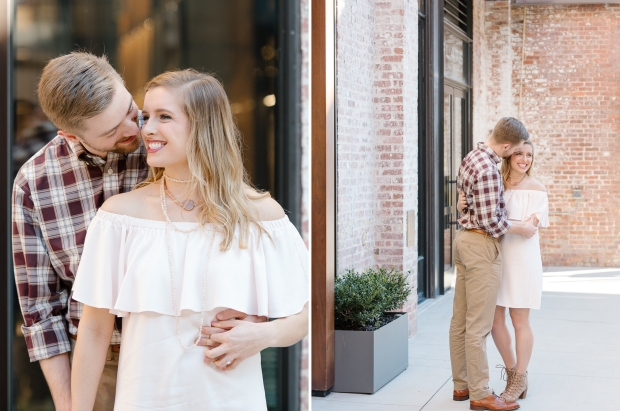 ponce city market engagement session atlanta engagement casey green photography destination wedding photographer