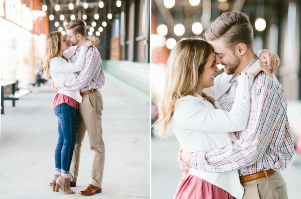 ponce city market engagement session atlanta wedding photographer