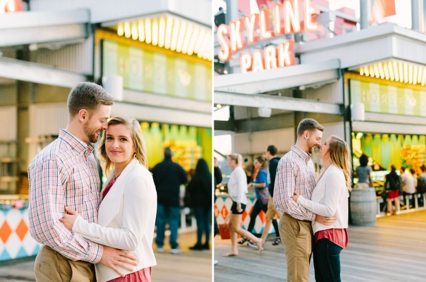 skyline park engagement session ponce city market roof top atlanta georgia casey green photography